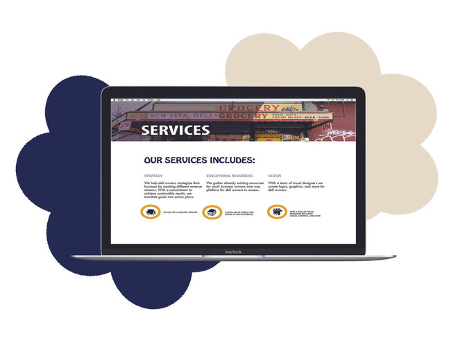 A snapshot of the services we provide on our website