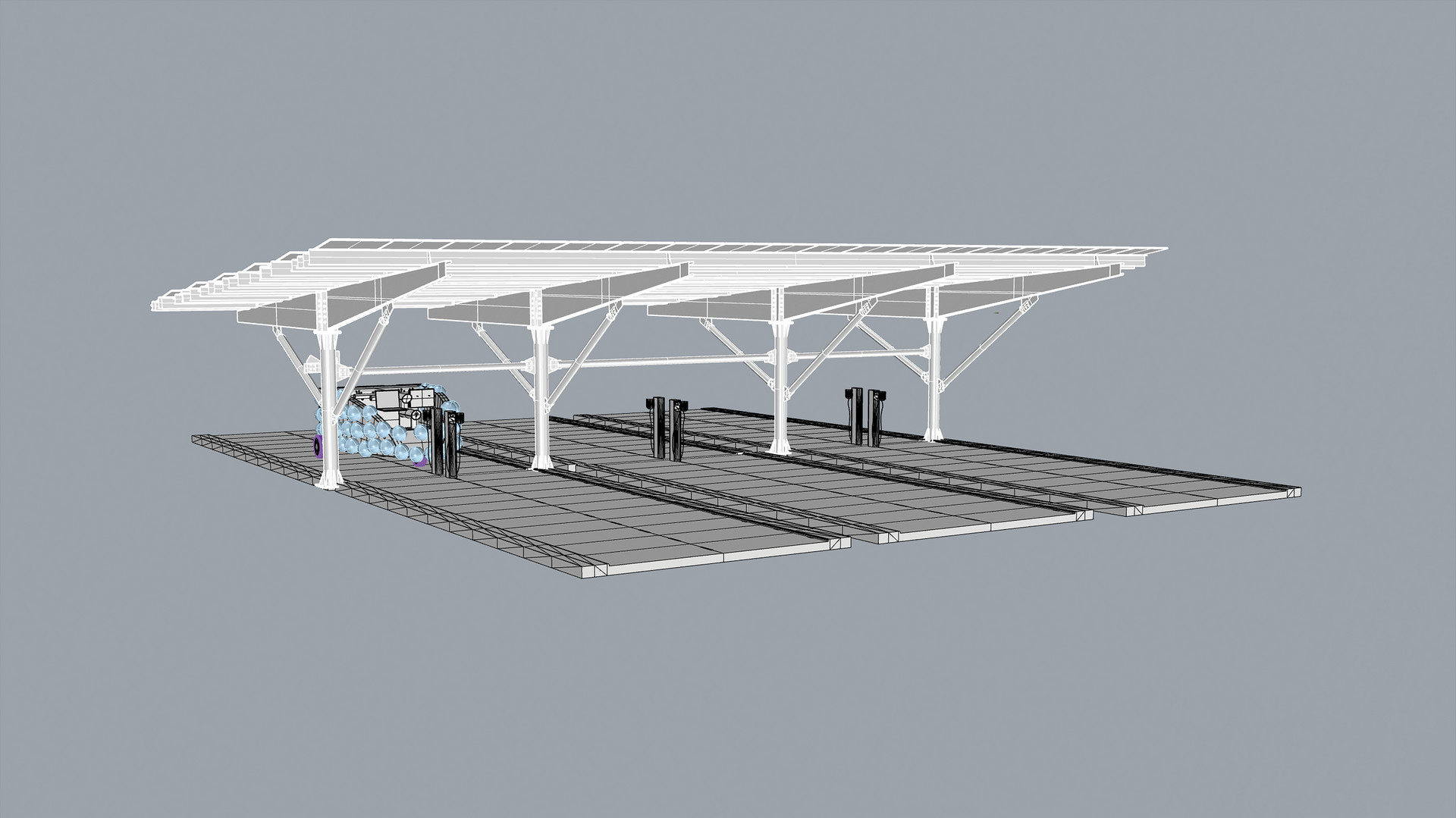 MO-Vehicle + EV Charging Station