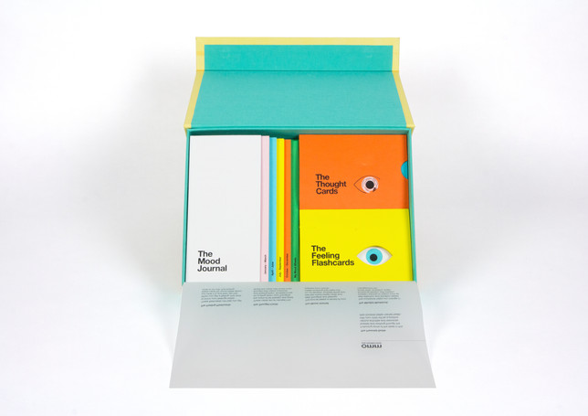 The toolkit is effectively designed to hold each resource in place. A semi transluscent covering lists the various resources included within the kit and provides a brief explanation for each one.