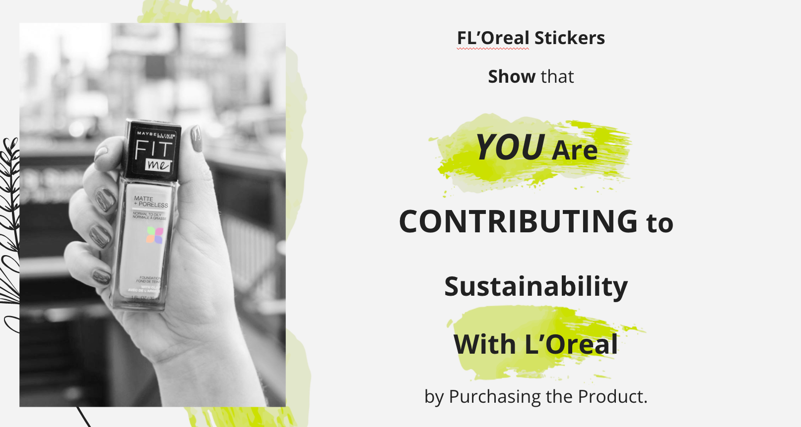FL'Oreal Stickers