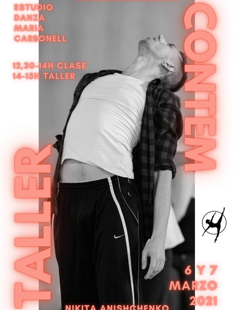 Danza Contemporánea + Taller Coreográfico - Nikita Anishchenko - 6 y 7 marzo 2021