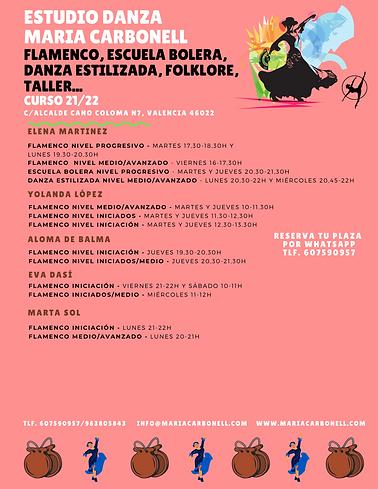 CARTEL HORARIO DANZA ESPAÑOLA CURSO 21-22 EDMC (2).png
