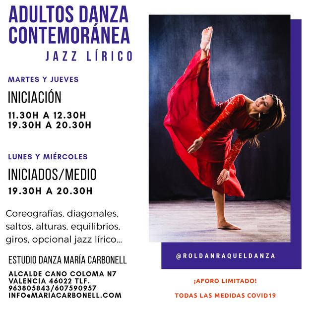 Danza Contemporánea y Jazz Lírico
