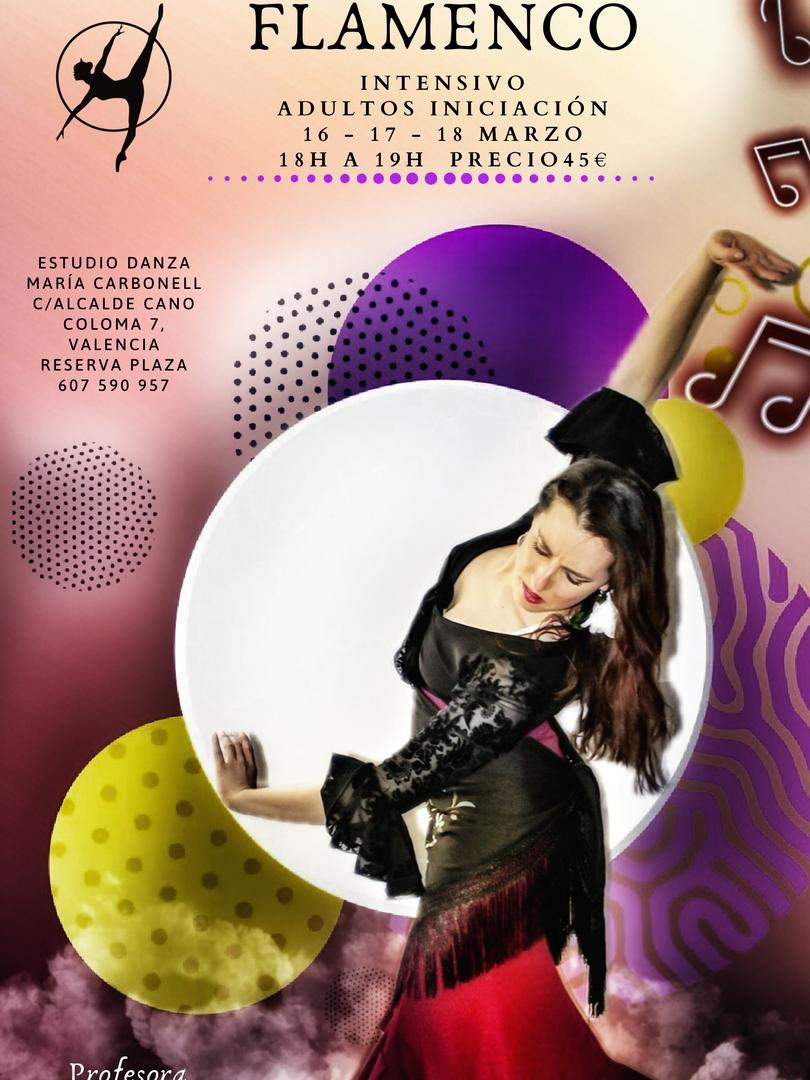 Flamenco  Adultos - Raquel Roldán - 16, 17 y 18 marzo 2021