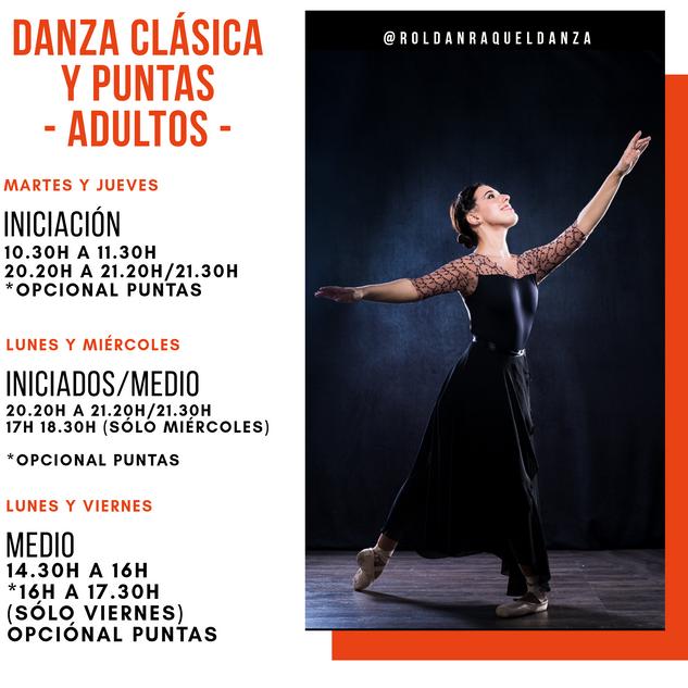 Danza Clásica y Puntas