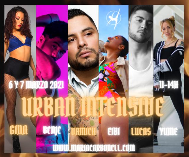 URBAN INTENSIVE - 6 y 7 marzo 2021