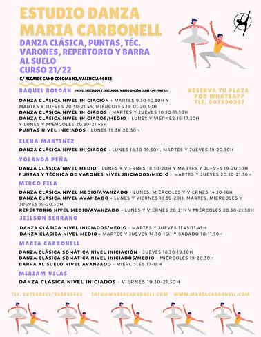 CARTEL HORARIO DANZA CLÁSICA CURSO 21-22 EDMC.png