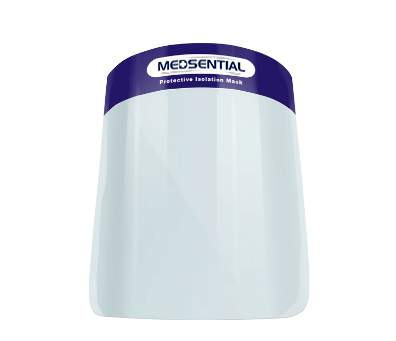 Medsential Donating Clear Face Shields to Support Utah Schools Reopening During Covid
