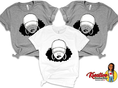Diva In A Hat Tee