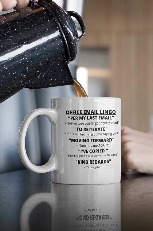 Office Lingo Mug
