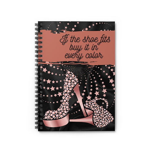 Shoe Fits Lined Journal