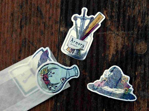 Stickerpack Magic 1