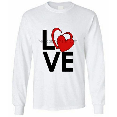 Love Hearts Long sleeve Tee
