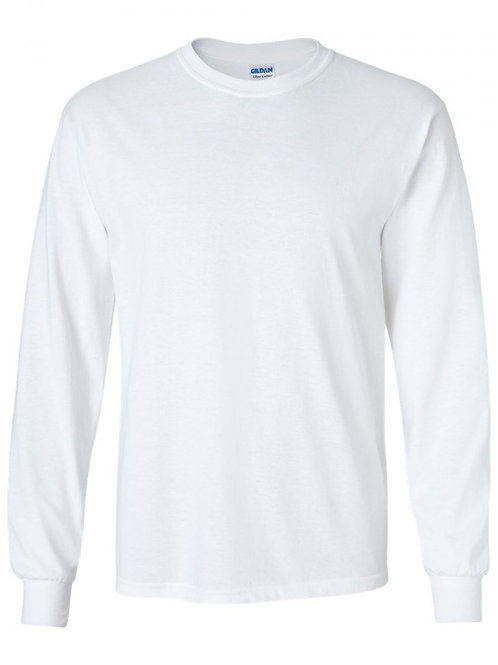 Design Your Own Long Sleeve Tee- 1 Color