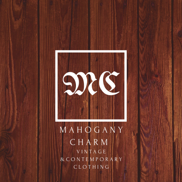 Mahogany Charm Vintage and Contemporary Clothing
