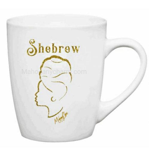 Shebrew Headwrap Mug