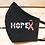 Thumbnail: Hope Ribbon Breast Cancer Awareness Classic Face Mask