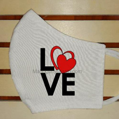 Love Hearts Mask