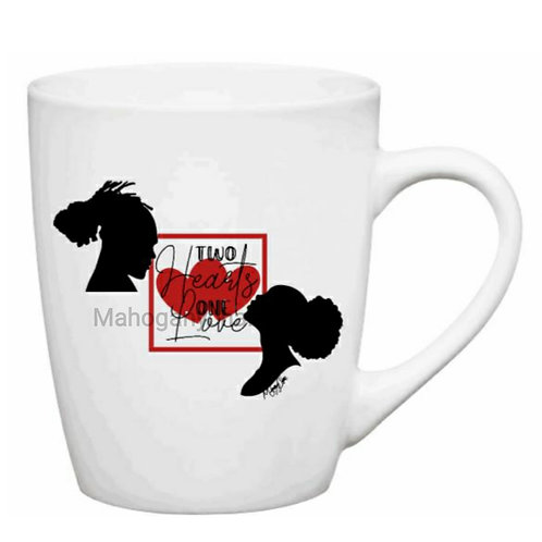 Two Hearts One Love Mug
