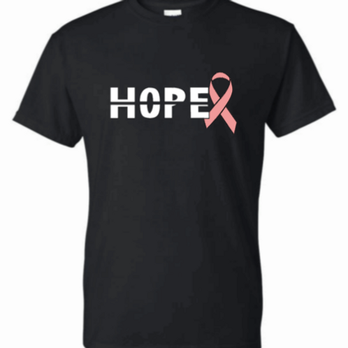 Hope Ribbon Breast Cancer Awareness Tee