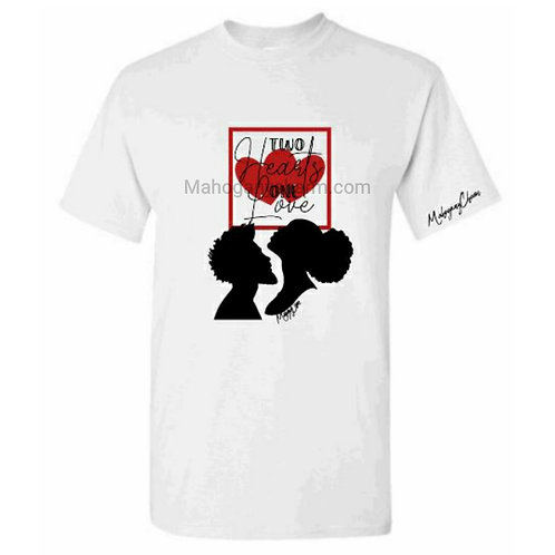 Two Hearts One Love Tee