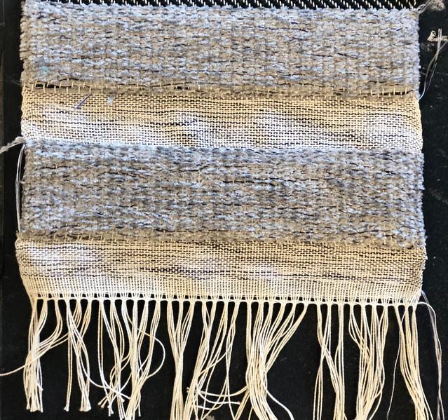 double weaving sample