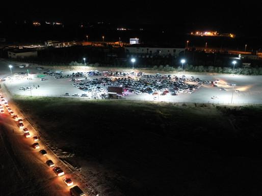 Arabalı Sinema Etkinliğinde Muhteşem Gece