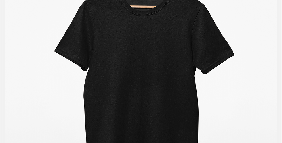 Solid Black Tee