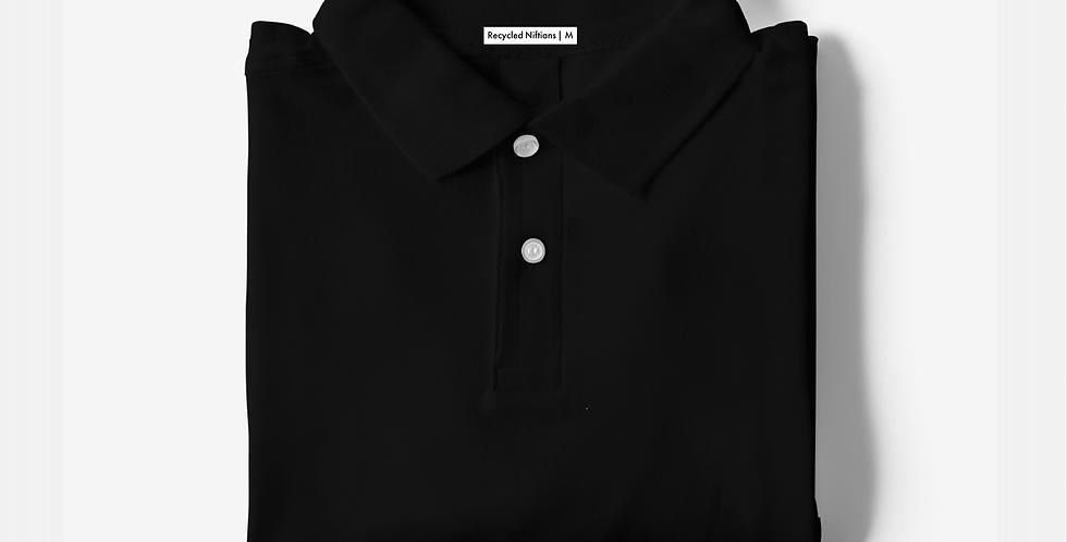 Solid Black Polo