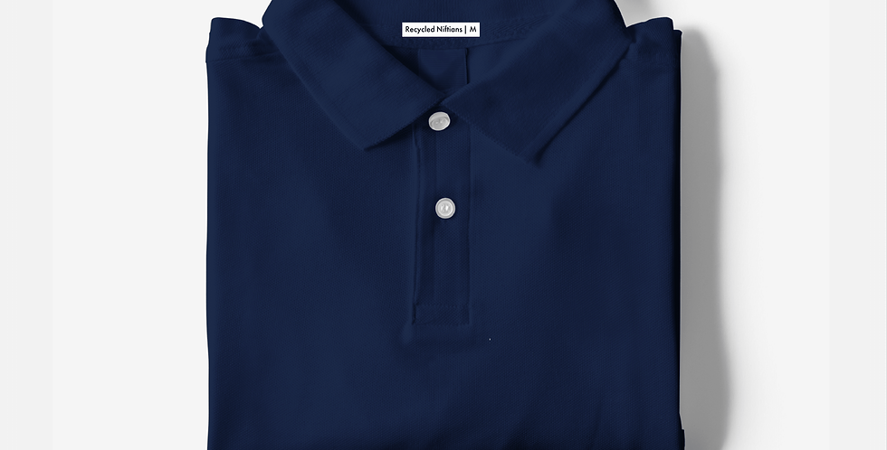 Solid Navy Polo