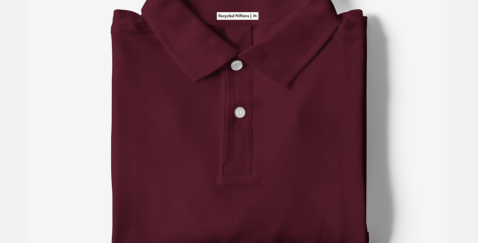 Solid Maroon Polo