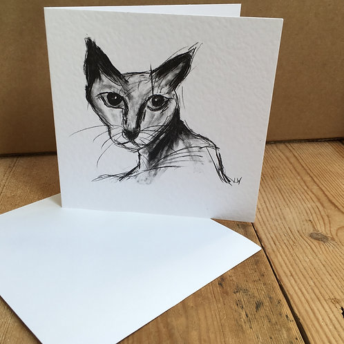 'How Dare You' Greetings Card