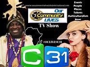 Our Community Lives TV Show logo 2021 - Adeniyi Ekine and Taniya Jay.png