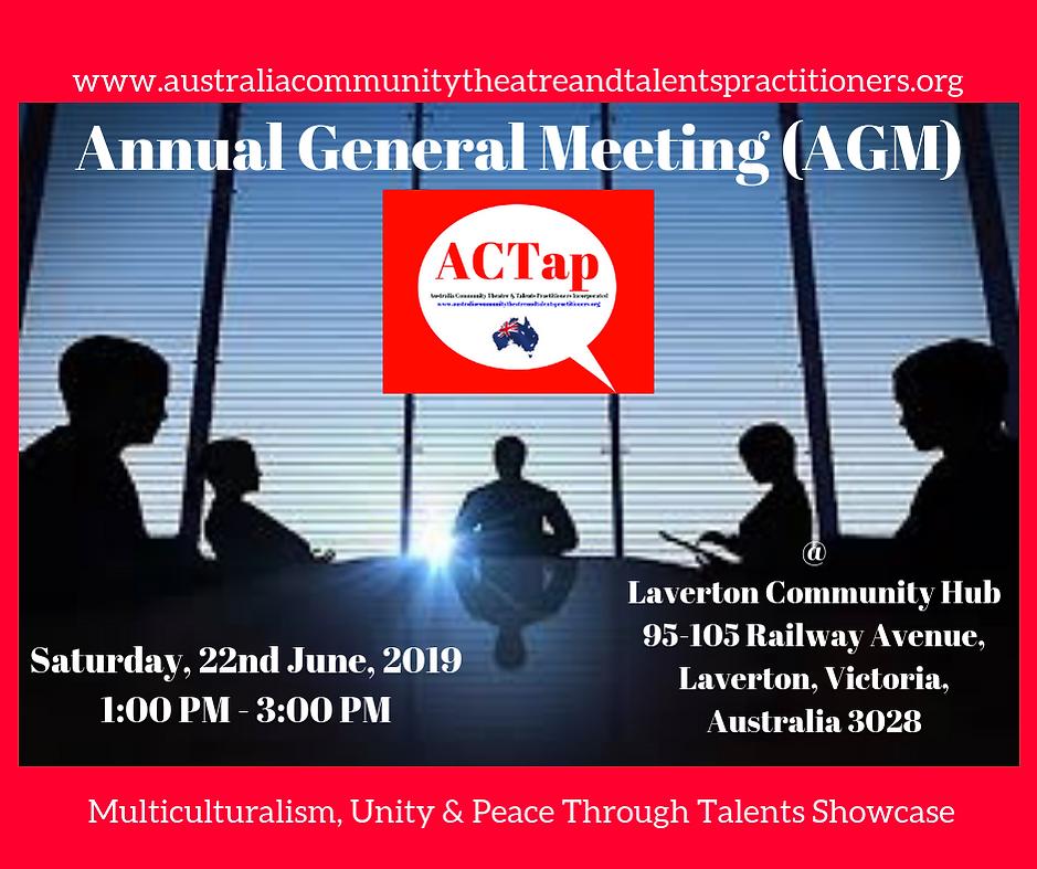 ACTap AGM 2019