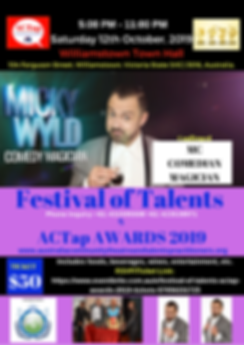 ACTap FesTal19 Confirmed Talent - MICKY