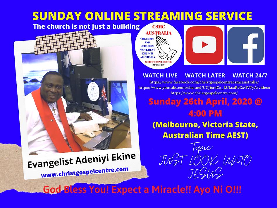 Christ Gospel Centre CSMC AUSTRALIA - ME