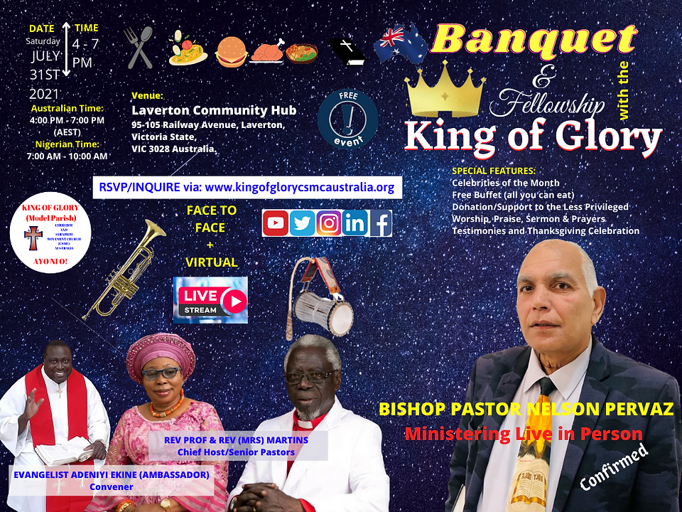 Media of Banquet With The King of Glory