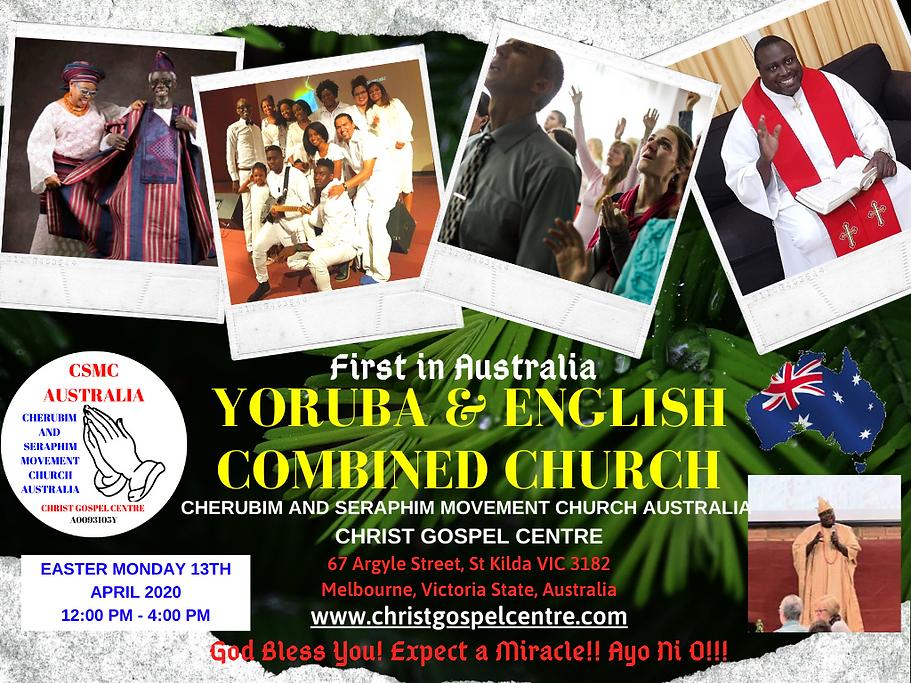 Christ Gospel Centre CSMC Australia