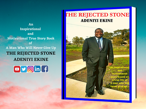 The Rejected Stone - Adeniyi Ekine Book