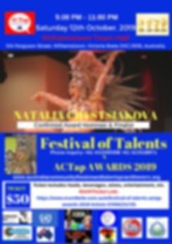 ACTap FesTal19 Confirmed Talented Nomine