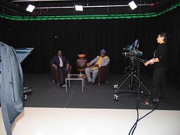Adeniyi Ekine and Bunmi Ajayi at Channel