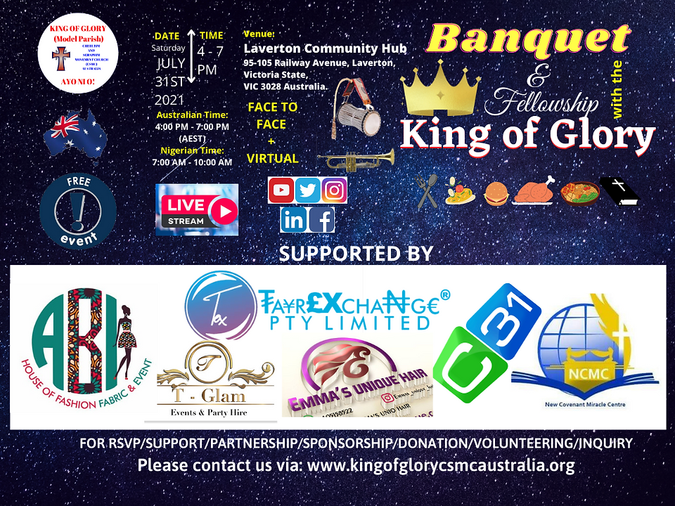 Supporters of Banquet With The King of G