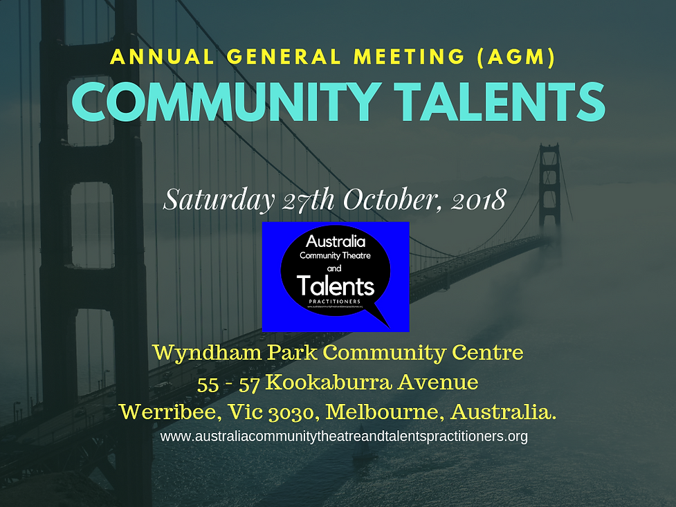 Australia Community Theatre and Talents
