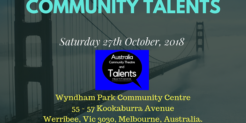 2018 AGM AUSTRALIA COMMUNITY THEATRE AND TALENTS PRACTITIONERS (1)