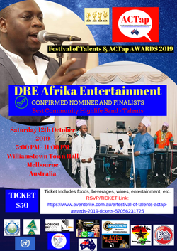 ACTap FesTal2019 Confirmed Talents - DRE