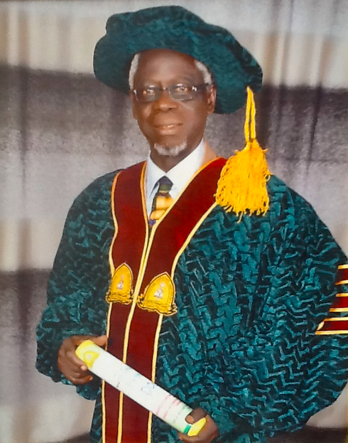 Rev Prof Titus Ade Martins - official ph