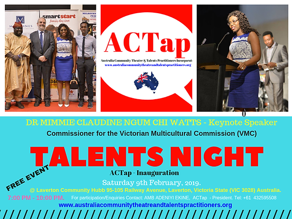 ACTap - Talents Night & Inauguration - D
