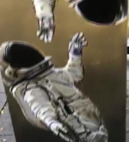 Astronaut Piano
