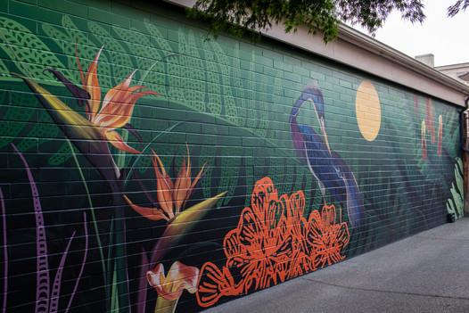 Eastlake Jungle Wall