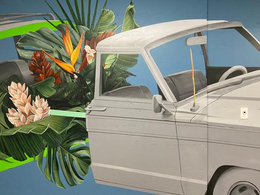 Tiki Motors Mural